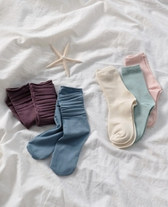 2018新款韩国服装ribbontie品牌冬季保暖时尚袜子(2018.1月)