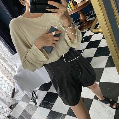 1区100%正宗韩国官网代购(韩国直发包国际运费)ribbontie-短裤(2019-08-21上架)