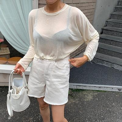 1区100%正宗韩国官网代购(韩国直发包国际运费)ribbontie-T恤(2019-08-21上架)
