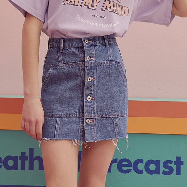 1区100%正宗韩国官网代购(韩国直发包国际运费)RolaRola-短裙(2019-07-31上架)