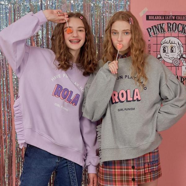 1区100%正宗韩国官网代购(韩国直发包国际运费)RolaRola-卫衣(2019-08-19上架)