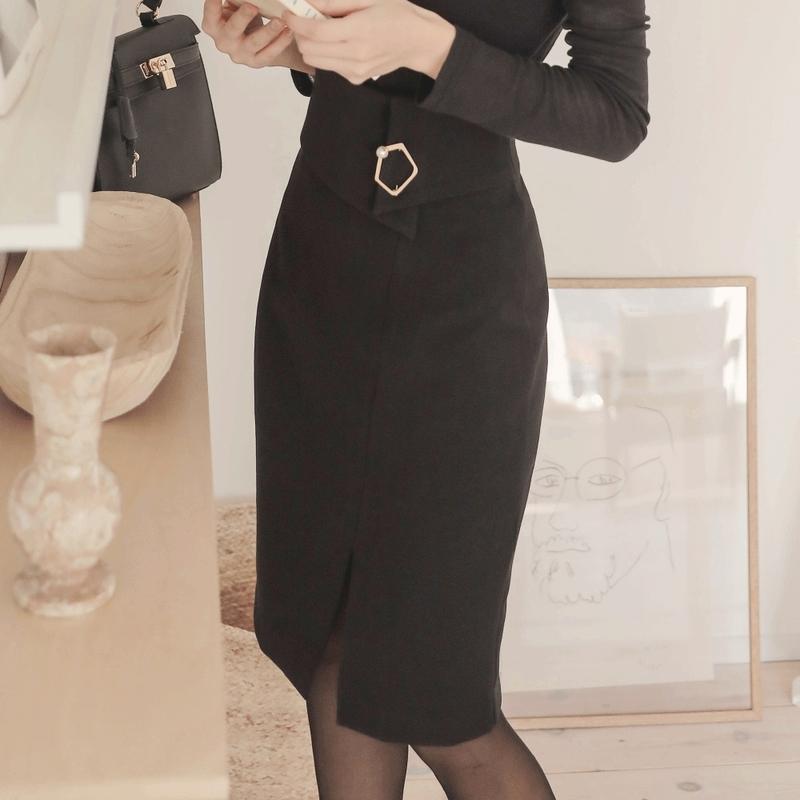1区韩国本土服装代购(韩国圆通直发)Rozley-中裙(2019-01-08上架)