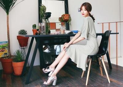 shescoming-韩版T恤裙子套装