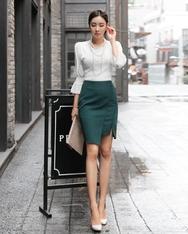 1区2017秋季新款|韩国发货|shescoming品牌韩国百搭魅力纯色短裙(2017.9月)