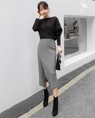 1区2017秋季新款|韩国发货|shescoming品牌韩国充满魅力时尚长裙(2017.11月)