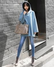 1区2017秋季新款|韩国发货|shescoming品牌韩国魅力时尚纯色套头衫(2017.11月)