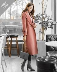 1区2017秋季新款|韩国发货|shescoming品牌韩国魅力时尚纯色大衣(2017.11月)