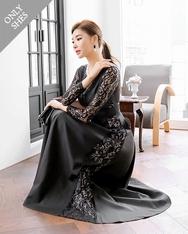 1区2017秋季新款|韩国发货|shescoming品牌韩国日常时尚纯色连衣裙(2017.11月)