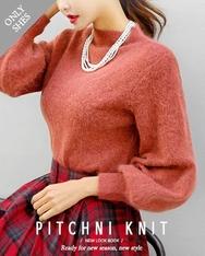 1区2017秋季新款|韩国发货|shescoming品牌韩国韩版魅力纯色针织衫(2017.11月)