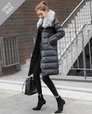 1区2017冬季新款韩国服装shescoming品牌时尚魅力长款棉服(2017.11月)