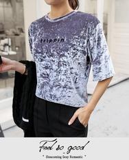 1区2017冬季新款韩国服装shescoming品牌个性时尚圆领T恤(2017.11月)