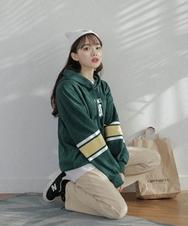 2018新款韩国服装sonyunara品牌时尚流行连帽卫衣(2018.1月)