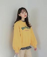 2018新款韩国服装sonyunara品牌时尚魅力字母卫衣(2018.1月)