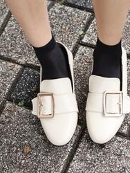 1区2017夏装新款|正宗韩国代购韩国发货|ssongbyssong品牌韩国复古个性配色平底鞋(2017.6月)