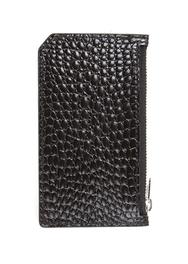 1区2017秋季新款|韩国发货|ssongbyssong品牌韩国时尚黑色鳄鱼纹钱包(2017.9月)