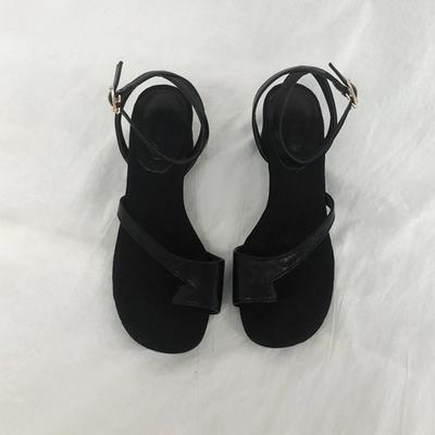 1区韩国本土服装代购(韩国圆通直发)ssongbyssong-夏季时尚羊羔皮凉鞋(2018-07-09上架)