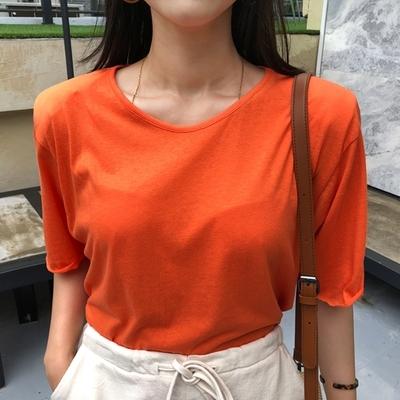 1区韩国本土服装代购(韩国圆通直发)ssongbyssong-T恤(2018-07-15上架)