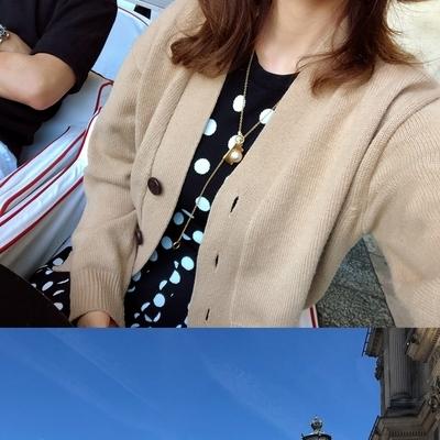 1区韩国本土服装代购(韩国圆通直发)ssongbyssong-开襟衫(2018-09-24上架)