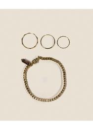 2018新款韩国服装ssongbyssong品牌时尚流行手链+戒指套装(2018.1月)