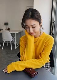 2018新款韩国服装ssongbyssong品牌时尚舒适魅力针织衫(2018.1月)