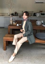 2018新款韩国服装ssongbyssong品牌时尚帅气修身魅力夹克(2018.1月)