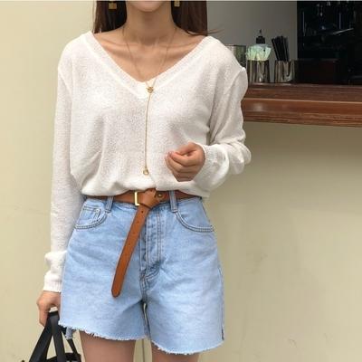 1区韩国本土服装代购(韩国圆通直发)ssongbyssong-短裤(2019-05-19上架)