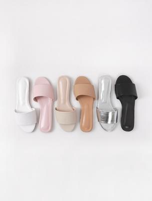 1区韩国本土服装代购(韩国圆通直发)ssumj-纯色休闲韩版拖鞋(2018-04-24上架)
