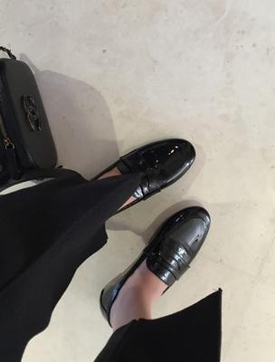 ssumj-帅气时尚纯色皮鞋