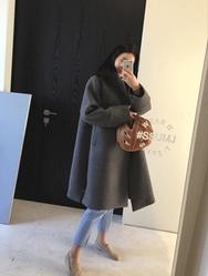2018新款韩国服装ssumj品牌时尚风格宽松大衣(2018.1月)