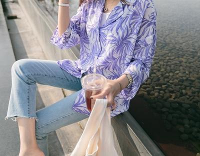 1区韩国本土服装代购(韩国圆通直发)ssunny-韩版魅力新款衬衫(2018-04-18上架)