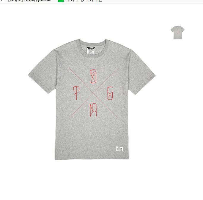 韩国服装牌子有?#30007;?#27491;宗韩国官网代购韩国直发包国际运费StigmaT恤