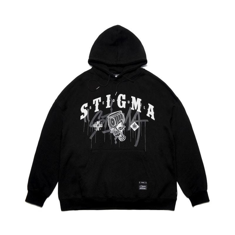 韩国代购东西是真的吗正宗韩国官网代购韩国直发包国际运费Stigma卫衣