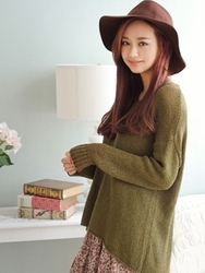 1区韩国代购正品验证styleberry-SBKN00764947-流行魅力韩版新款针织衫