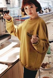 1区韩装网2016韩国服装货源|女装一件代发styleberry官网韩国韩版个性流行字母T恤(2016.9)