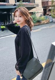 1区韩装网2016韩国服装货源|女装一件代发styleberry官网韩国纯色魅力新款T恤(2016.9)