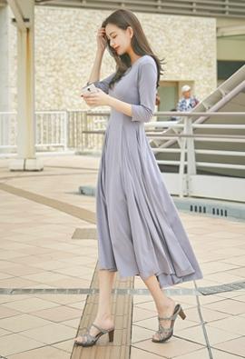 styleberry-s曲线修身褶皱连衣裙