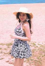1区2017秋季新款|韩国发货|styleberry品牌韩国简单花纹魅力连衣裙(2017.8月)