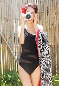 1区2017秋季新款|韩国发货|styleberry品牌韩国时尚个性纯色泳装(2017.8月)