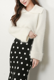 2018新款韩国服装styleberry品牌气质个性魅力纯色针织衫(2018.1月)