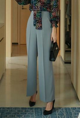 1区韩国本土服装代购(韩国圆通直发)styleberry-时尚百搭纯色阔腿裤(2018-04-24上架)