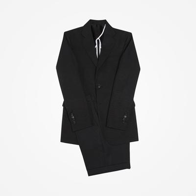 stylehomme-黑色时尚休闲西服套装