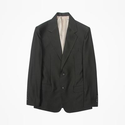 1区韩国本土服装代购(韩国圆通直发)stylehomme-卡其时尚韩版西装(本商品非新品请联系客服核对再下单-14上架)