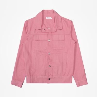 stylehomme-简单韩版休闲纯色夹克
