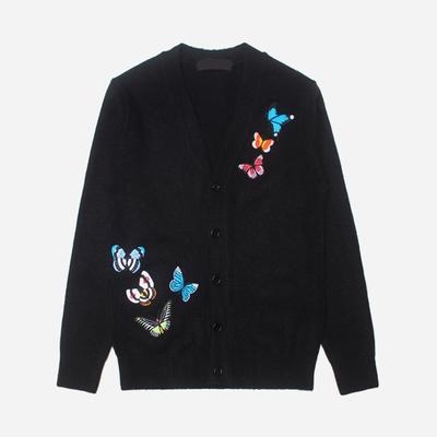 stylehomme-时尚流行刺绣开襟衫