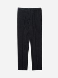 1区2017冬季新款韩国服装stylehomme品牌时尚流行条纹长裤(2017.12月)