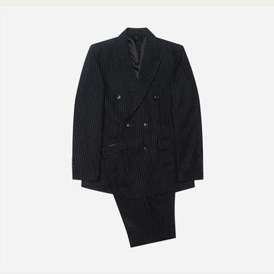 1区韩国本土服装代购(韩国圆通直发)stylehomme-时尚条纹西服套装(2018-04-14上架)