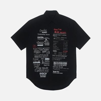 1区韩国本土服装代购(韩国圆通直发)stylehomme-时尚流行独特衬衫(2018-07-05上架)