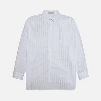 1区韩国本土服装代购(韩国圆通直发)stylehomme-时尚流行帅气条纹衬衫(2018-07-07上架)