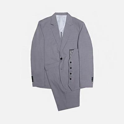 1区韩国本土服装代购(韩国圆通直发)stylehomme-时尚流行舒适西服套装(2018-07-11上架)