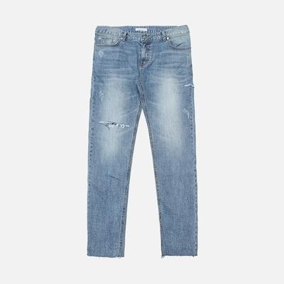 1区韩国本土服装代购(韩国圆通直发)stylehomme-时尚风格帅气牛仔裤(2018-04-14上架)